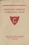 1926 Program, Men's Gymnastics by State University of New York College at Cortland