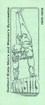 1975-1976 Team Guide, Men's Gymnastics, Women's Gymnastics