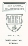 1983 Championship, Men's Gymnastics by State University of New York College at Cortland