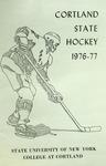 1976-1977 Team Guide, Men's Ice Hockey