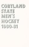 1980-1981 Team Guide, Men's Ice Hockey