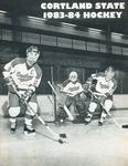 1983-1984 Team Guide, Men's Ice Hockey