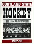 1992-1993 Team Guide, Men's Ice Hockey