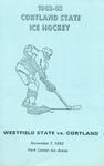 1982 Program, Men's Ice Ice Hockey