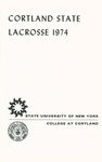 1974 Team Guide, Men's Lacrosse