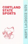 1978 Team Guide, Men's Lacrosse by State University of New York College at Cortland