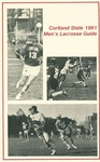 1981 Team Guide, Men's Lacrosse by State University of New York College at Cortland