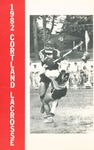 1982 Team Guide, Men's Lacrosse by State University of New York College at Cortland