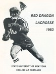 1983 Team Guide, Men's Lacrosse by State University of New York College at Cortland