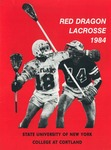 1984 Team Guide, Men's Lacrosse by State University of New York College at Cortland