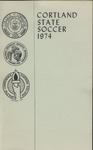 1974 Team Guide, Men's Soccer by State University of New York College at Cortland