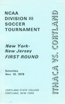1979 Tournament, Men's Soccer by State University of New York College at Cortland