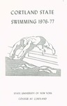 1976-1977 Team Guide, Men's Swimming