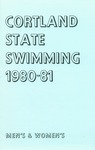 1980-1981 Team Guide, Men's Swimming by State University of New York College at Cortland