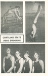 1984-1985 Team Guide, Men's Swimming