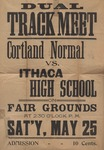 1901 Poster, Men's Track & Field