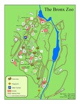 Bronx Zoo Map by Dean Corbin