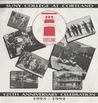 Quasquicentennial Program by State University of New York College at Cortland
