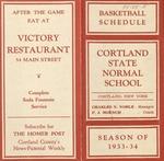 1933-34 Winter Athletic Schedule