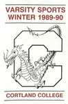 1989-90 Winter Athletic Schedule by State University of New York College at Cortland