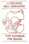 1989 Fall Athletic Schedule
