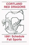 1991 Fall Athletic Schedule by State University of New York College at Cortland