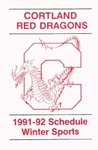 1991-92 Winter Athletic Schedule by State University of New York College at Cortland