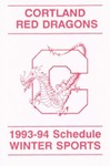 1993-94 Winter Athletic Schedule