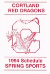 1994 Spring Athletic Schedule