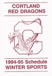 1994-95 Winter Athletic Schedule