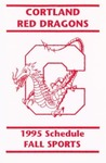 1995 Fall Athletic Schedule
