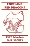 1997 Fall Athletic Schedule