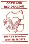 1997-98 Winter Athletic Schedule by State University of New York College at Cortland