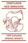 1999 Spring Athletic Schedule by State University of New York College at Cortland