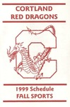 1999 Fall Athletic Schedule by State University of New York College at Cortland