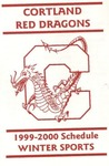 1999-00 Winter Athletic Schedule