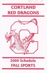 2000 Fall Athletic Schedule by State University of New York College at Cortland