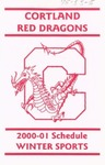 2000-01 Winter Athletic Schedule by State University of New York College at Cortland