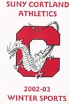 2002-03 Winter Athletic Schedule by State University of New York College at Cortland