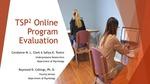 TSP2 Online Program Evaluation by Carolanne M.L. Clark and Safiya K. Tonico