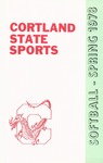 1978 Team Guide, Softball by State University of New York College at Cortland