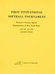 1972 Tournament, Softball by State University of New York College at Cortland