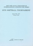 1973 Tournament, Softball by State University of New York College at Cortland
