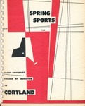 SpringSports_1960_1.pdf by State University of New York College at Cortland