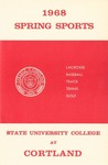 1968 Spring Sports Guide by State University of New York College at Cortland