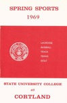 1969 Spring Sports Guide by State University of New York College at Cortland