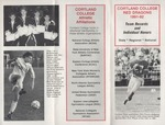 1991-1992 Team Records and Individual Honors by State University of New York College at Cortland