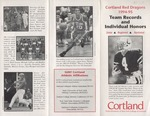 1994-1995 Team Records and Individual Honors by State University of New York College at Cortland