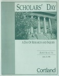 1998 Scholar's Day Abstracts