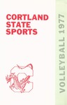1977 Team Guide, Volleyball by State University of New York College at Cortland